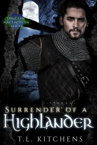 Surrender Of A Highlander- Cover Art