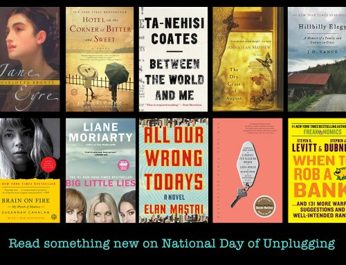 10 books to read on National Day of Unplugging