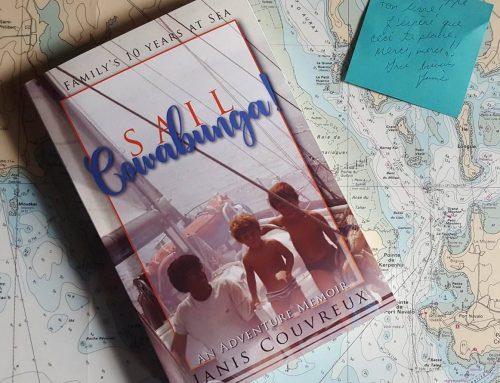 "Petaluma author shares family's sailing adventure in ""Sail Cowabunga! A Family's Ten Years at Sea"""